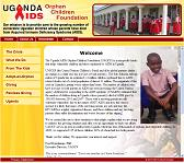 The Uganda AIDS Orphan Children Foundation home page